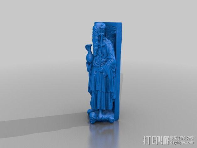 雕塑模型 3D模型  图2