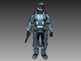 光晕3 士兵模型 3D模型