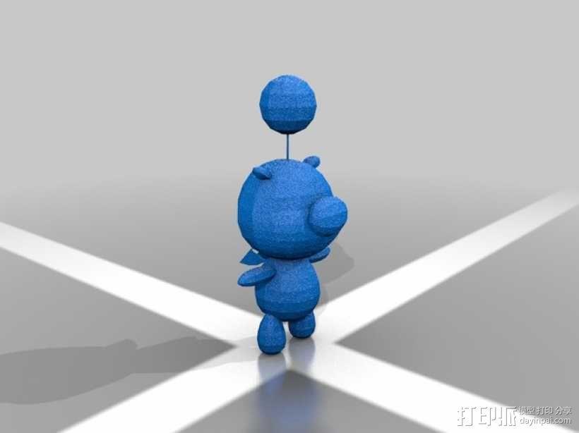 Moogle莫古利 3D模型  图1