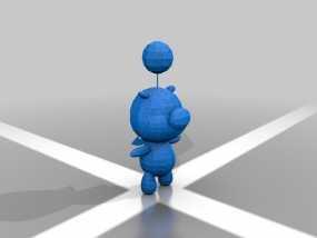Moogle莫古利 3D模型