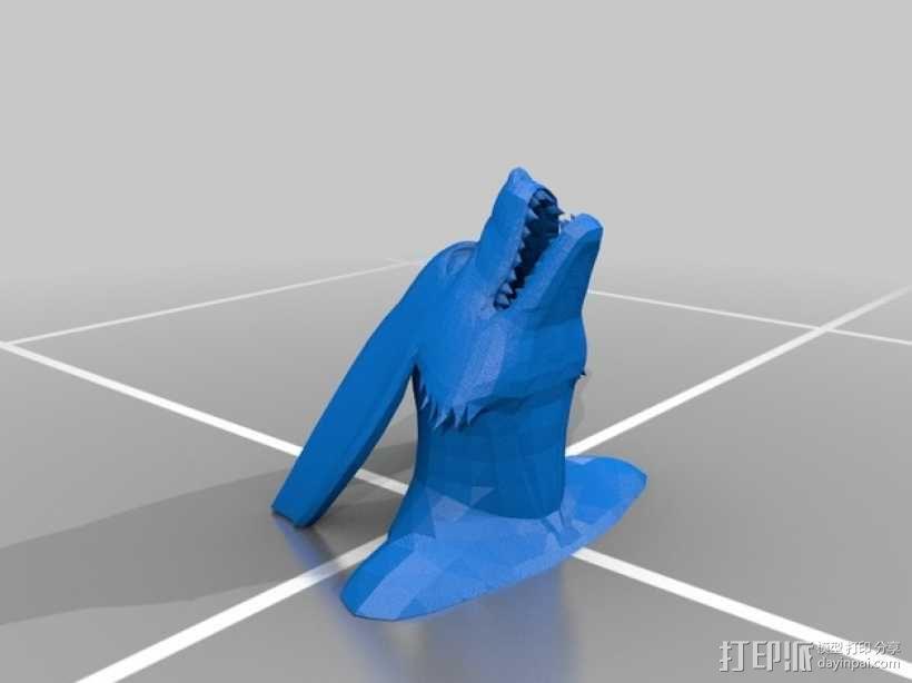 九喇嘛半身像 3D模型  图1
