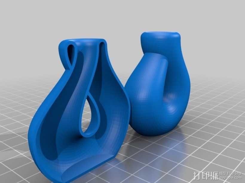 克莱因瓶 3D模型  图1