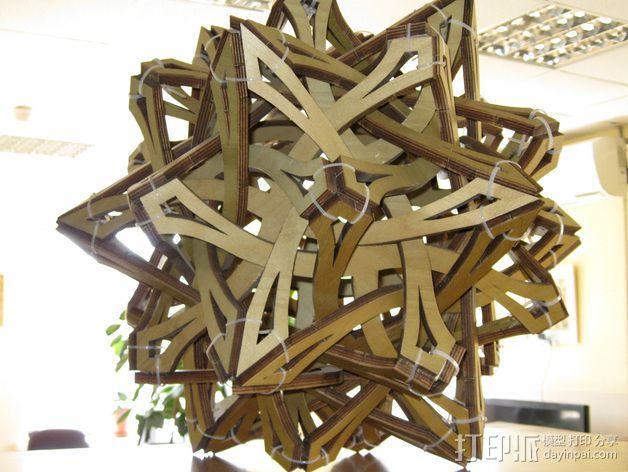 乔治哈特的罗盘 3D模型  图1