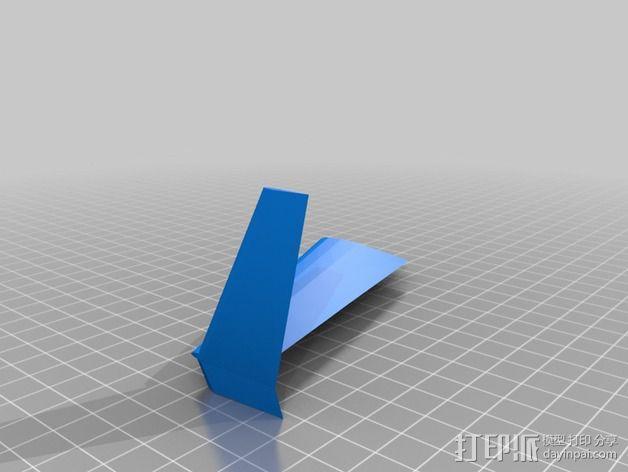 长翼滑翔机 3D模型  图6