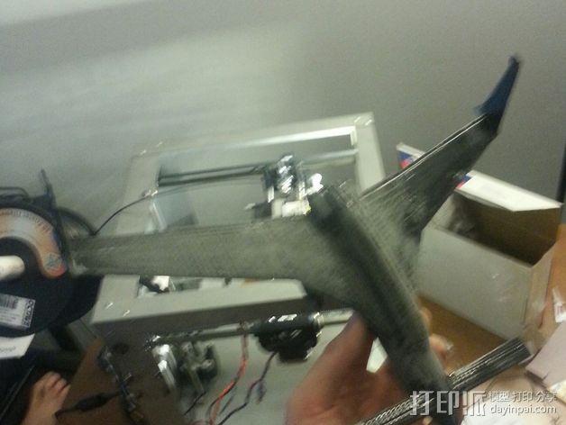 长翼滑翔机 3D模型  图12