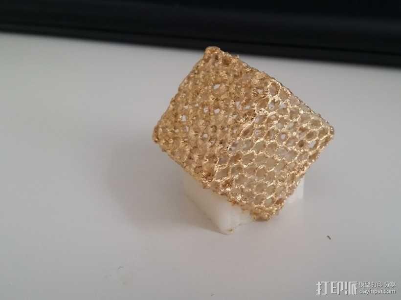 镂空立方体 3D模型  图4