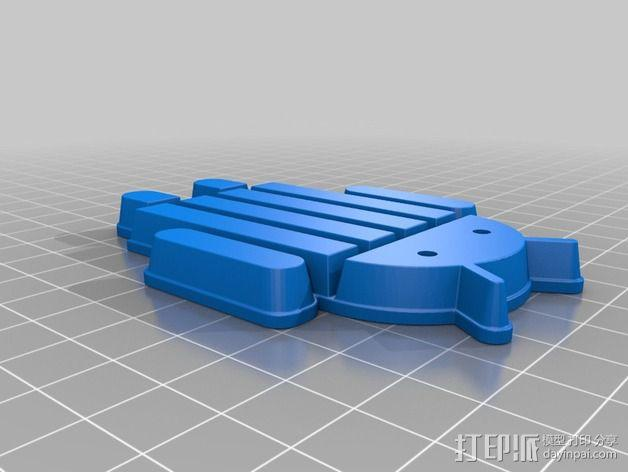 安仔模型 3D模型  图3