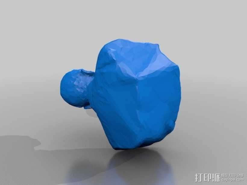 福泽谕吉 3D模型  图1