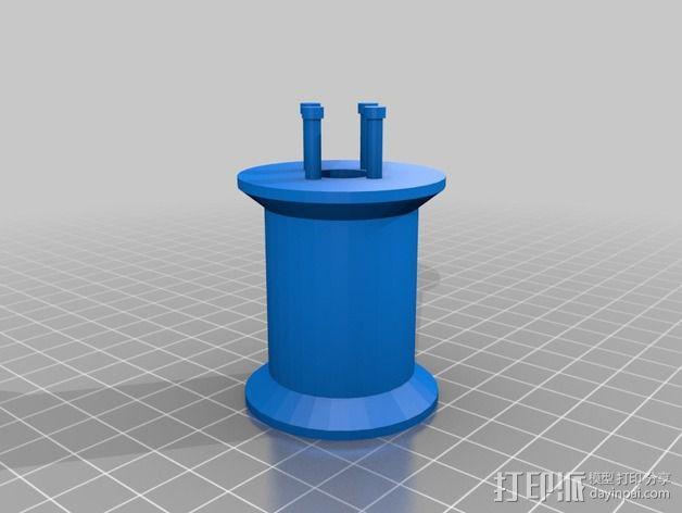 编织线轴和编织针 3D模型  图3
