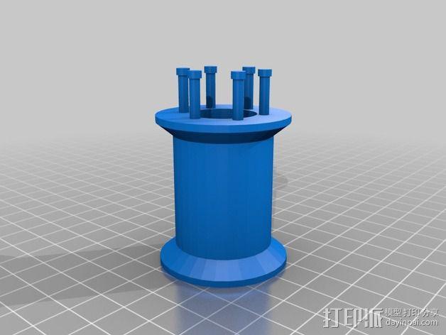 编织线轴和编织针 3D模型  图10