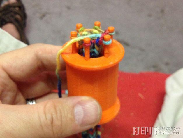 编织线轴和编织针 3D模型  图13