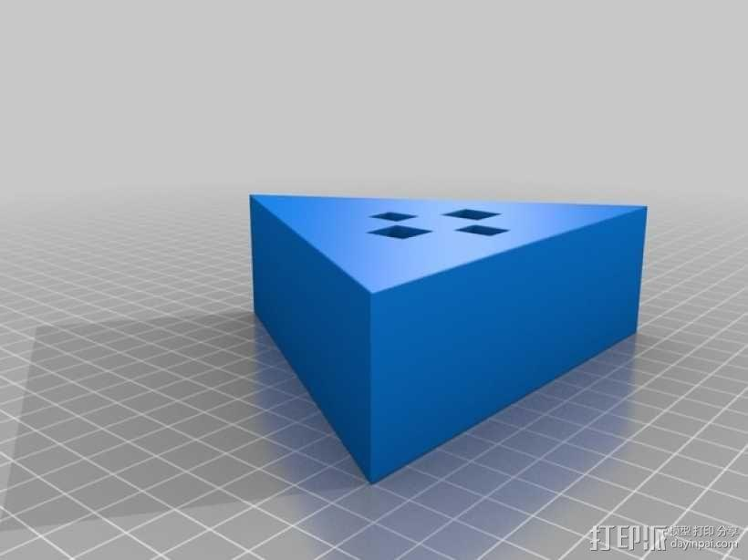 奇形怪状的纽扣 3D模型  图2