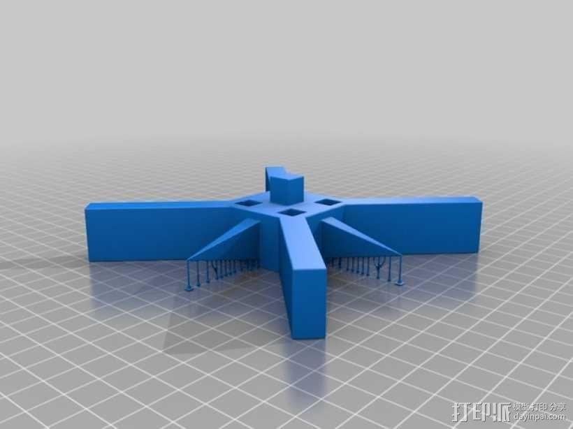 奇形怪状的纽扣 3D模型  图3