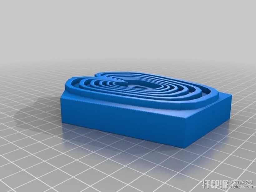 奇形怪状的纽扣 3D模型  图5