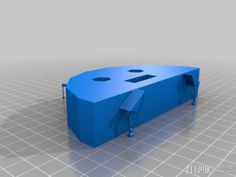 奇形怪状的纽扣 3D模型  图6