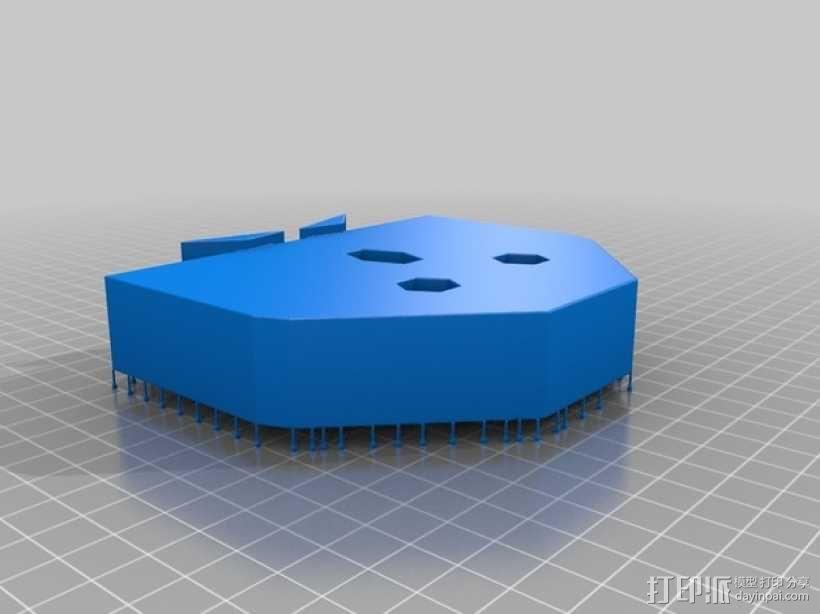 奇形怪状的纽扣 3D模型  图8