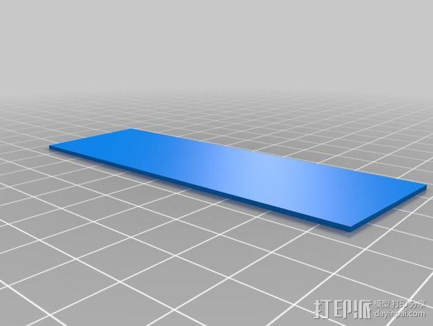 Thor's Hammer雷神之锤 符文板 3D模型  图3