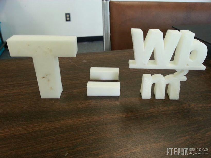 特斯拉公式 3D模型  图1