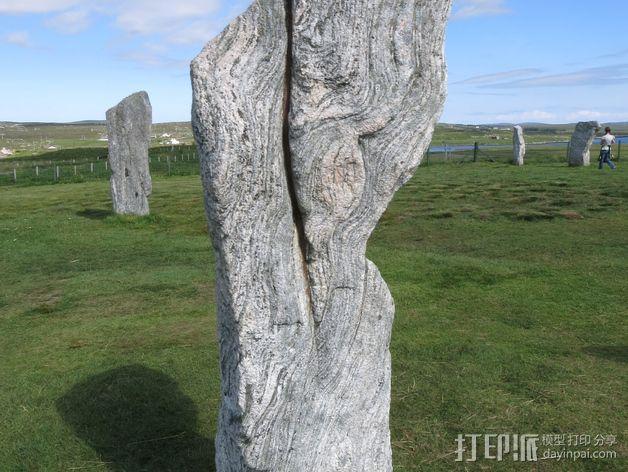卡兰尼世巨石 3D模型  图3