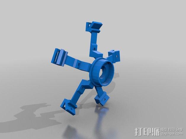潘洛斯花盘 3D模型  图2