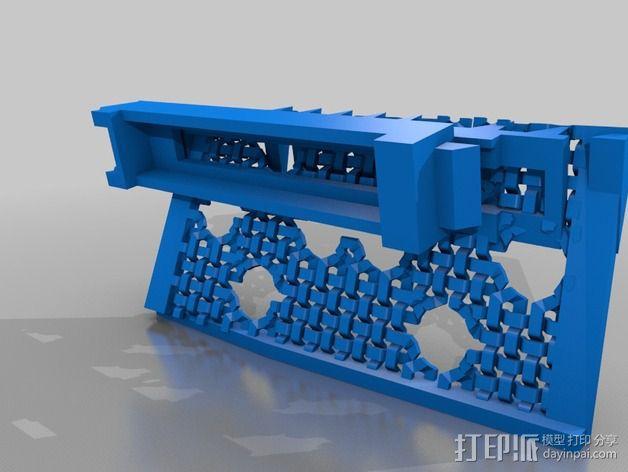 潘洛斯花盘 3D模型  图4