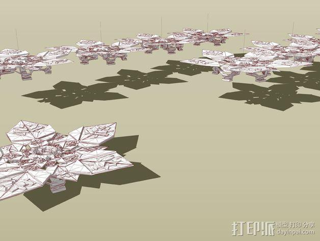 潘洛斯花盘 3D模型  图7