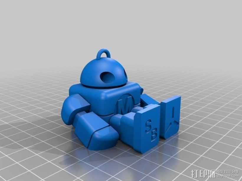 创客机器人模型 3D模型  图3