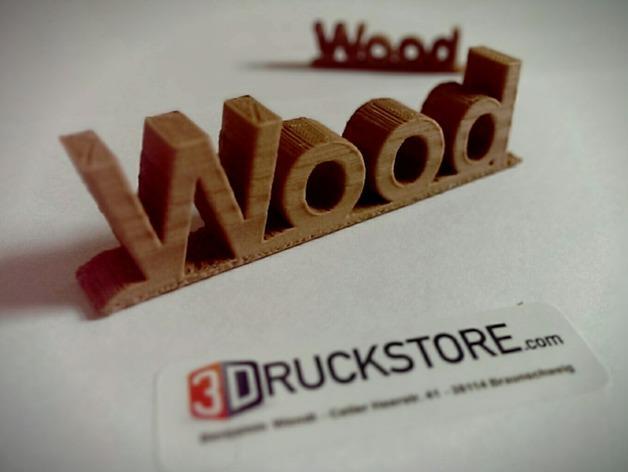 木质Logo  3D模型  图3