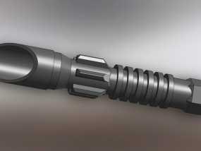 光剑剑柄 3D模型
