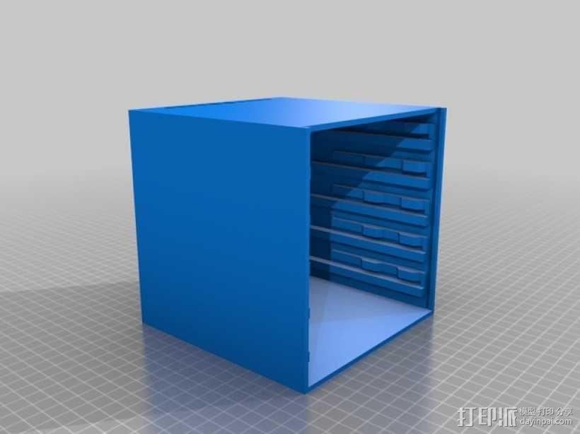 颜料箱 3D模型  图6