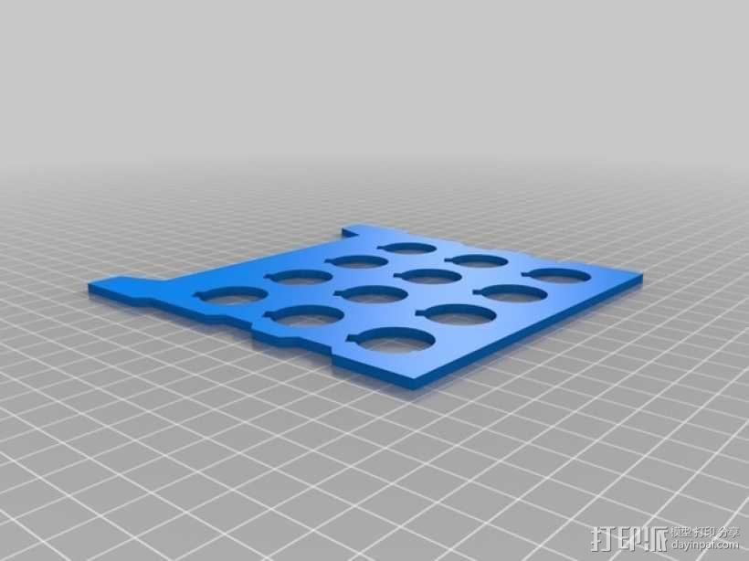 颜料箱 3D模型  图7