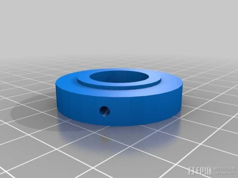垂直绘图稳定器 3D模型  图5