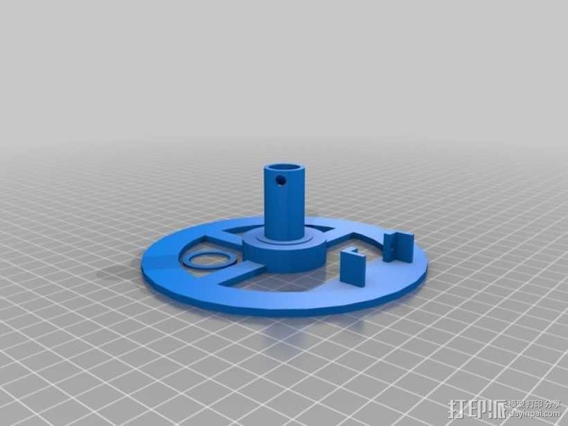 垂直绘图稳定器 3D模型  图6