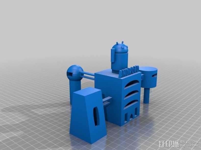 安卓总部 3D模型  图1