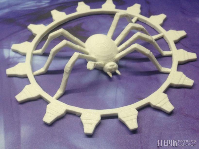 受伤的蜘蛛齿轮 3D模型  图1