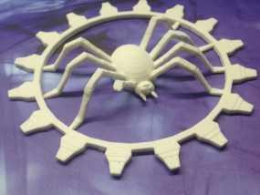 受伤的蜘蛛齿轮 3D模型