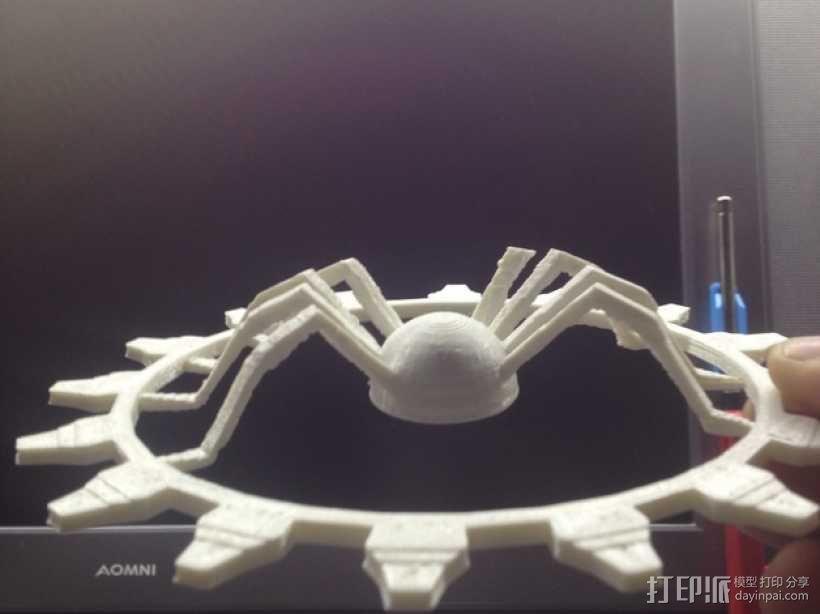 受伤的蜘蛛齿轮 3D模型  图4