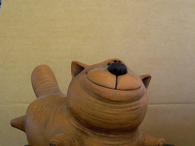 大肥猫 3D模型  图1