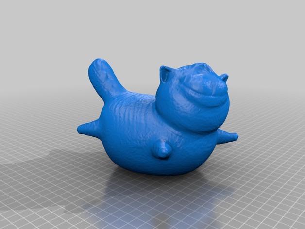 大肥猫 3D模型  图2