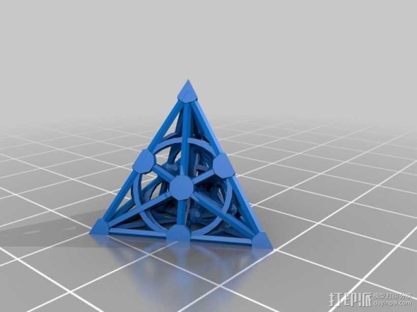 射影空间模型 3D模型  图1