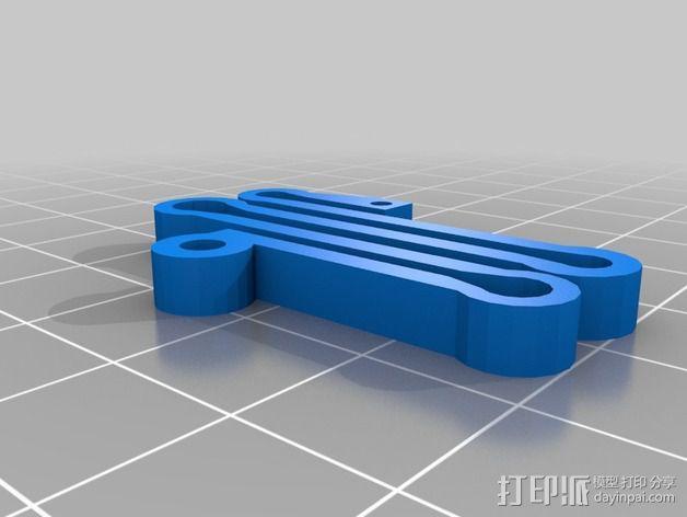 球面刻字器 3D模型  图2