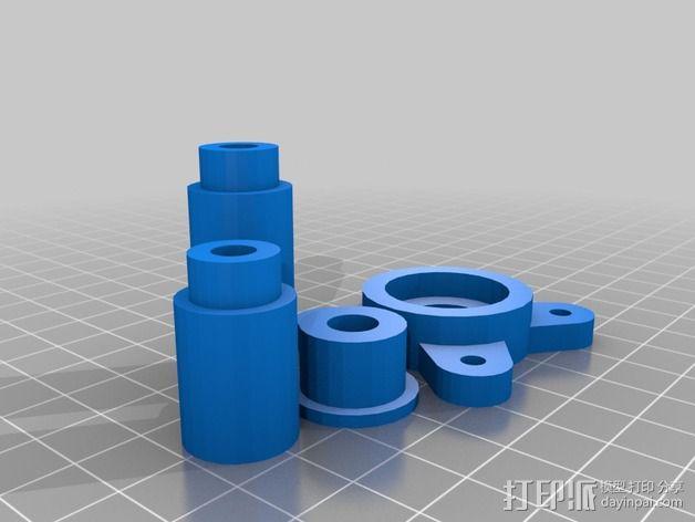 球面刻字器 3D模型  图3