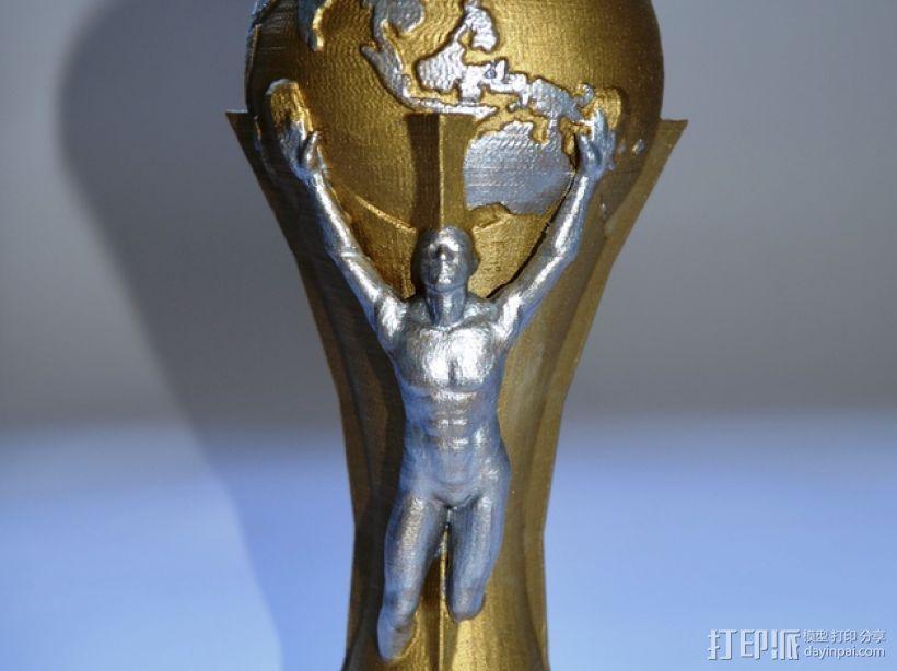 足球世界杯 3D模型  图1