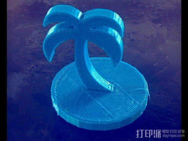 棕榈树 3D模型  图5