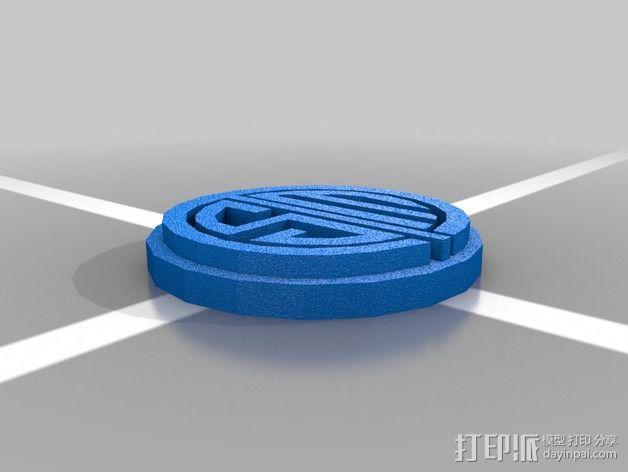 英雄联盟TSM标志 3D模型  图1