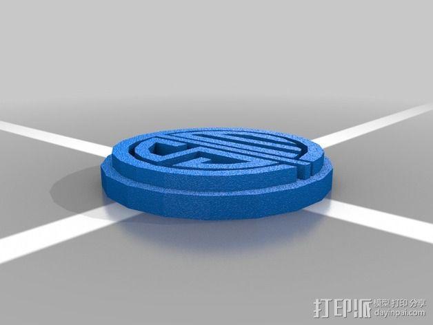 英雄联盟TSM标志 3D模型  图2