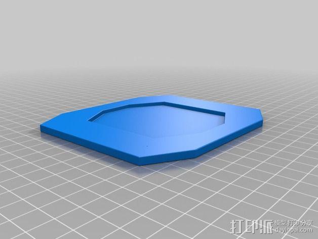 餐具 餐盘 杯子 3D模型  图5