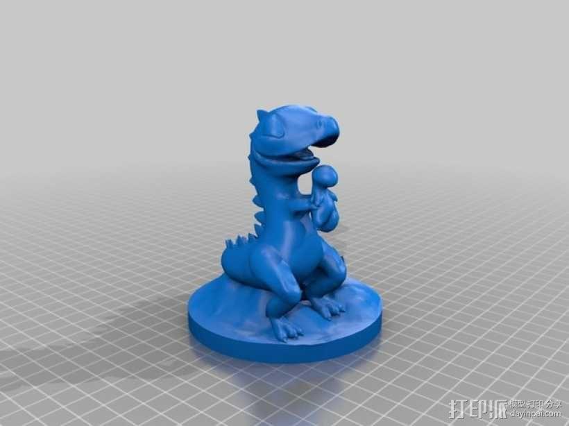 恐龙宝宝 3D模型  图3