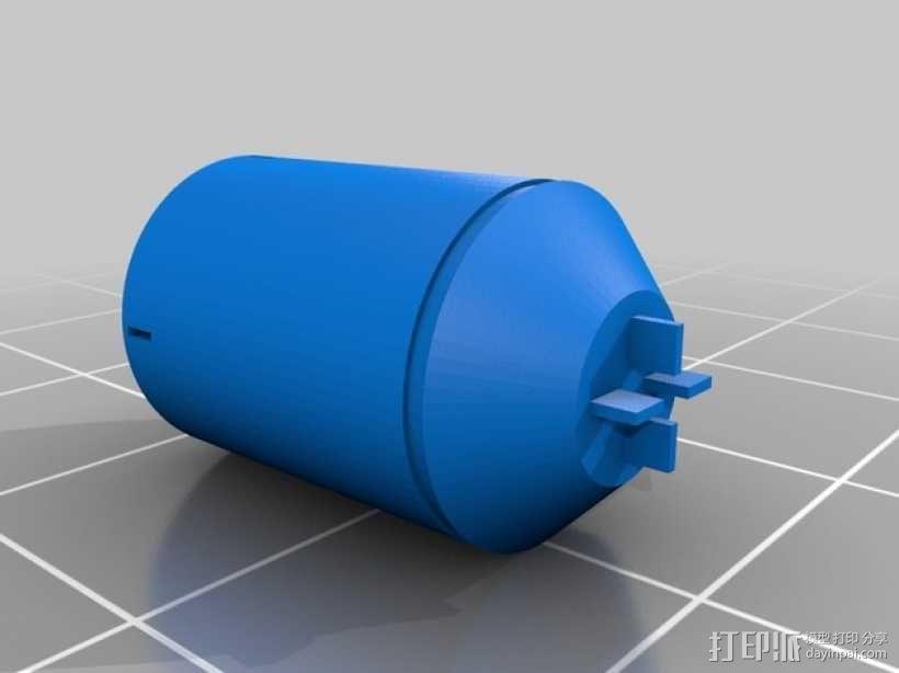 光晕2 手榴弹 3D模型  图1