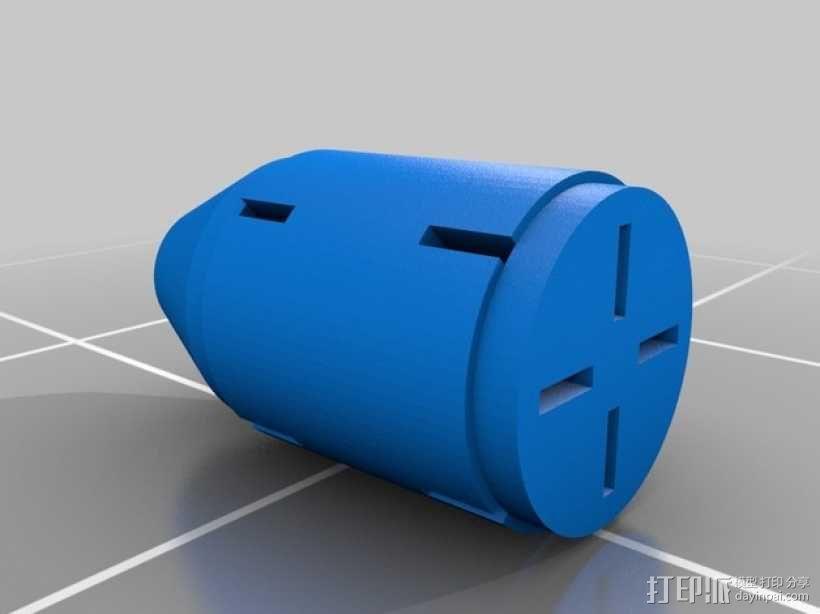 光晕2 手榴弹 3D模型  图3